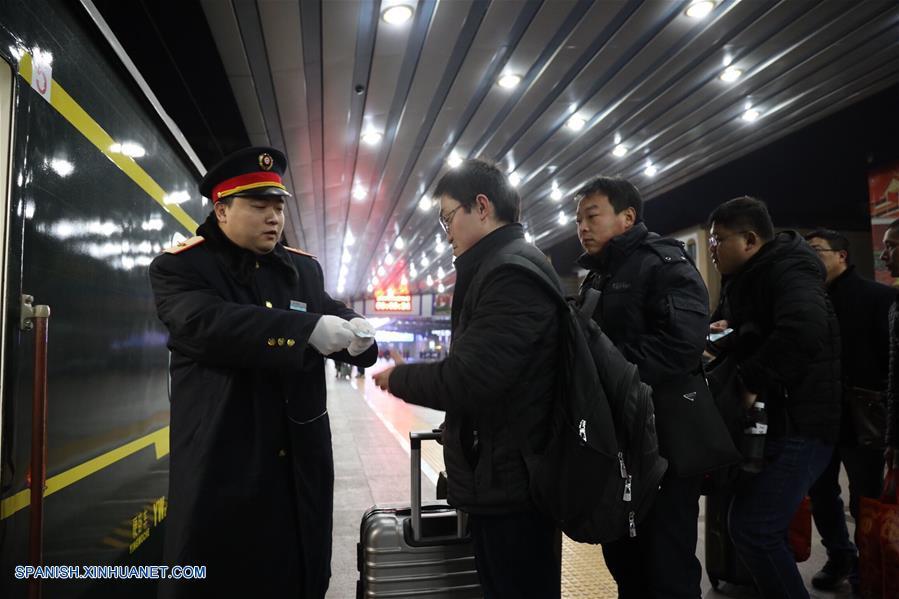 Comienza temporada alta de viajes de Fiesta de la Primavera de China
