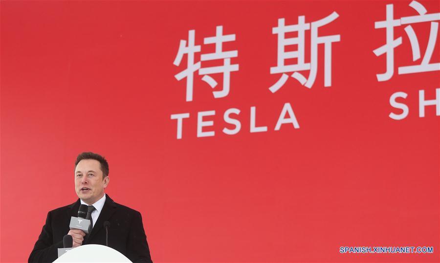Proyecto de Tesla en Shanghai avanza satisfactoriamente