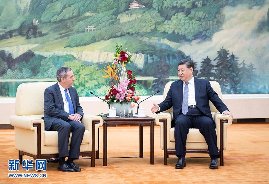 Xi se reúne con el presidente de la Universidad de Harvard