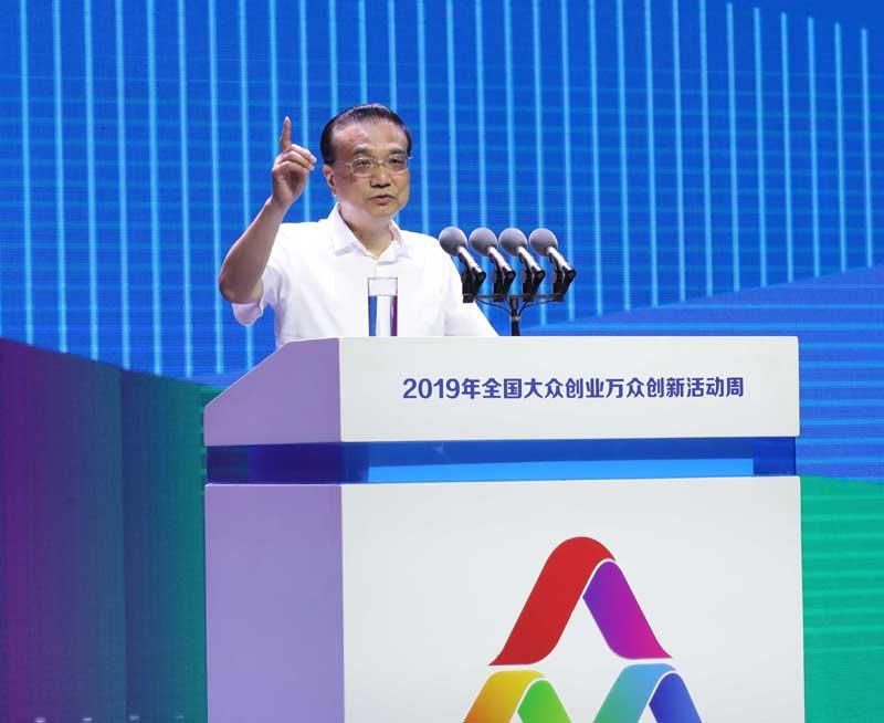 Primer ministro chino subraya espíritu emprendedor e innovación de las masas