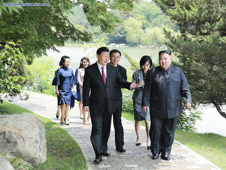 China está lista para hacer realidad lo planeado en la relación bilateral con RPDC, dice presidente Xi