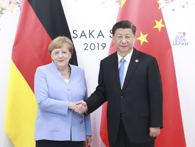 China y Alemania expresan apoyo al multilateralismo