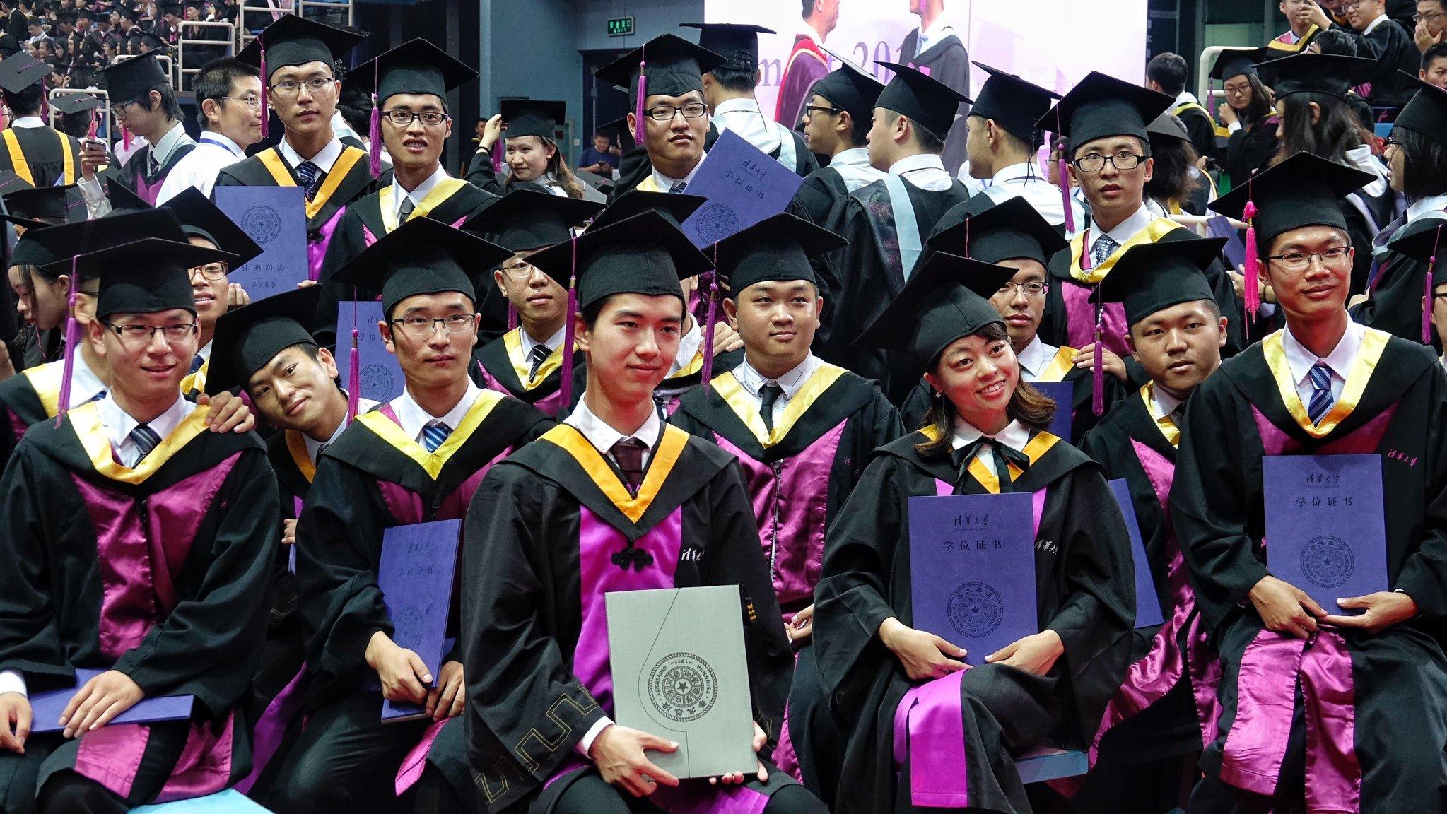 China tendrá nueve millones de nuevos graduados universitarios en 2021