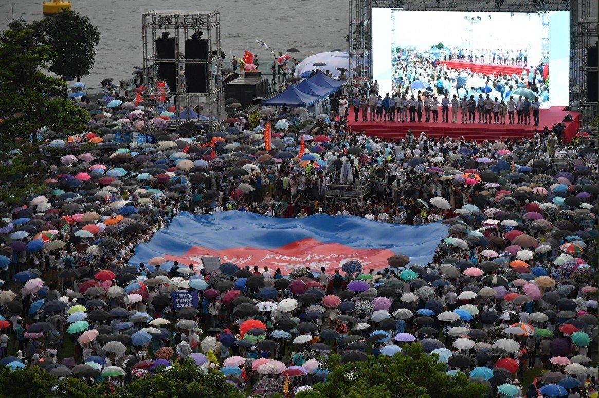 Gobierno central de China sigue de cerca situación en Hong Kong, según portavoz