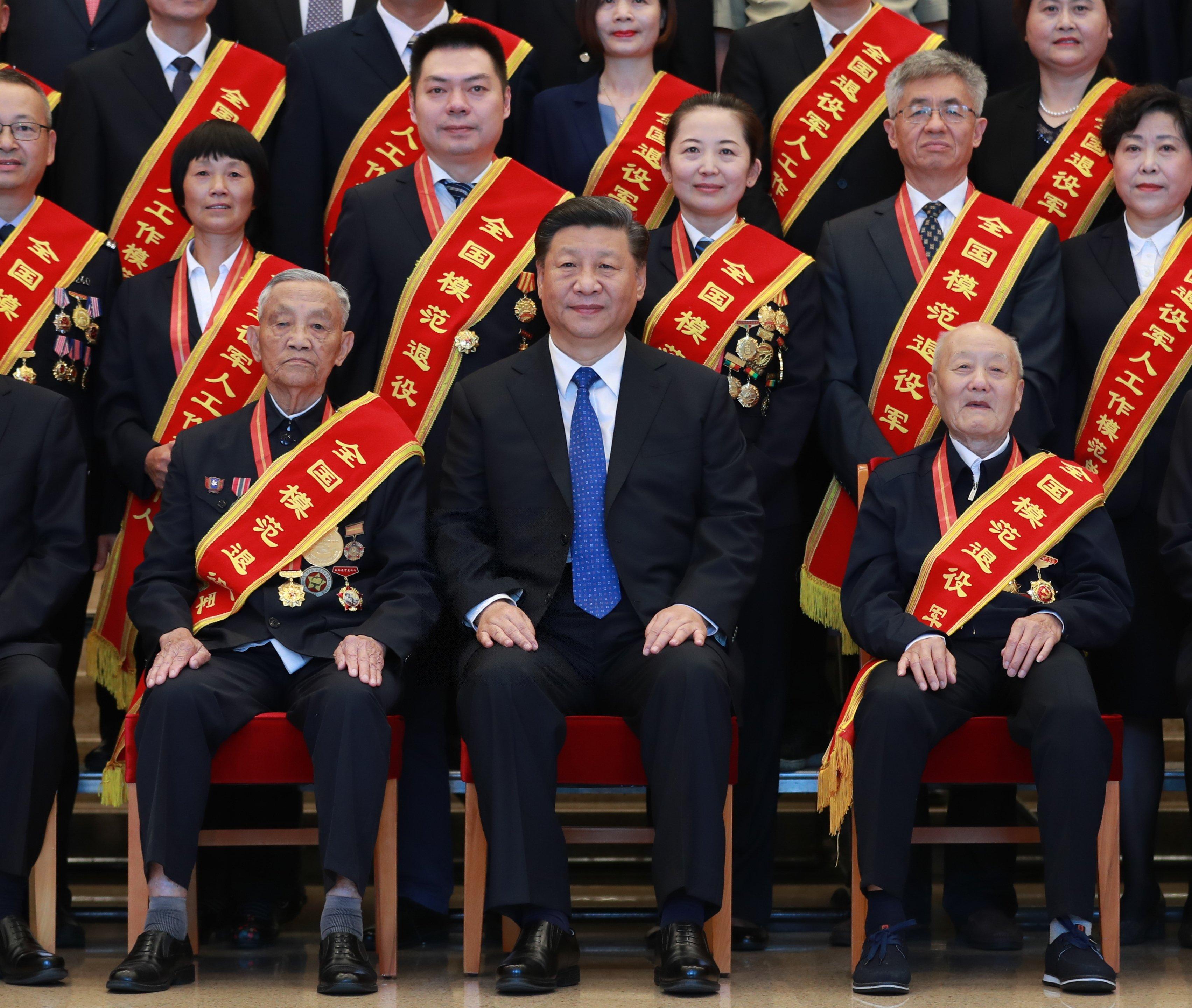 Xi pide nuevos avances en asuntos de veteranos