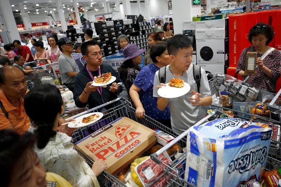 Costco abre primera tienda en parte continental china