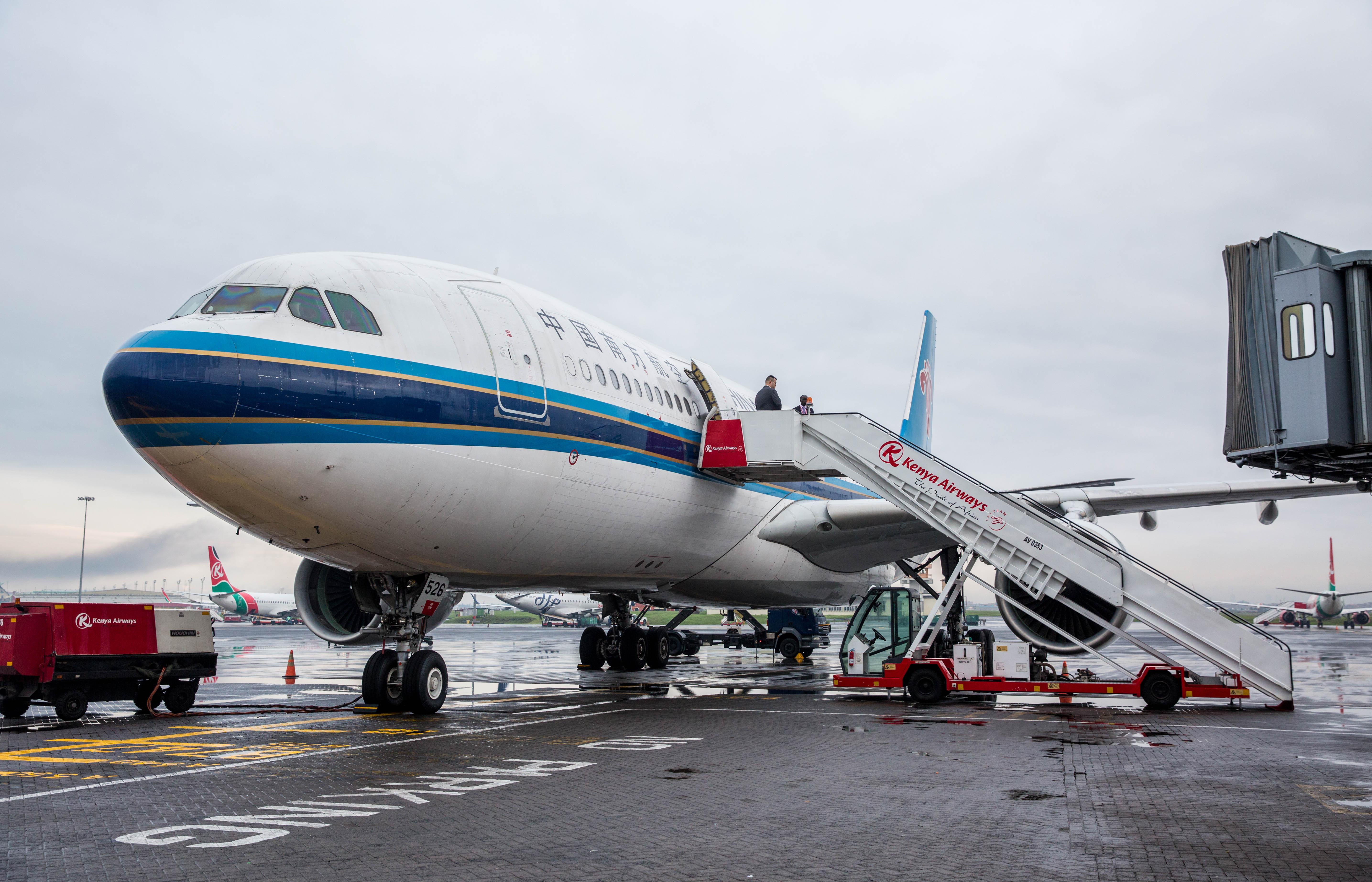 China Southern comparte salas de espera con American Airlines