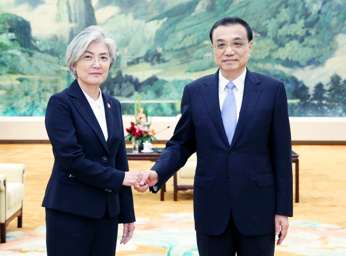 Primer ministro Li pide fortalecer cooperación con República de Corea y Japón