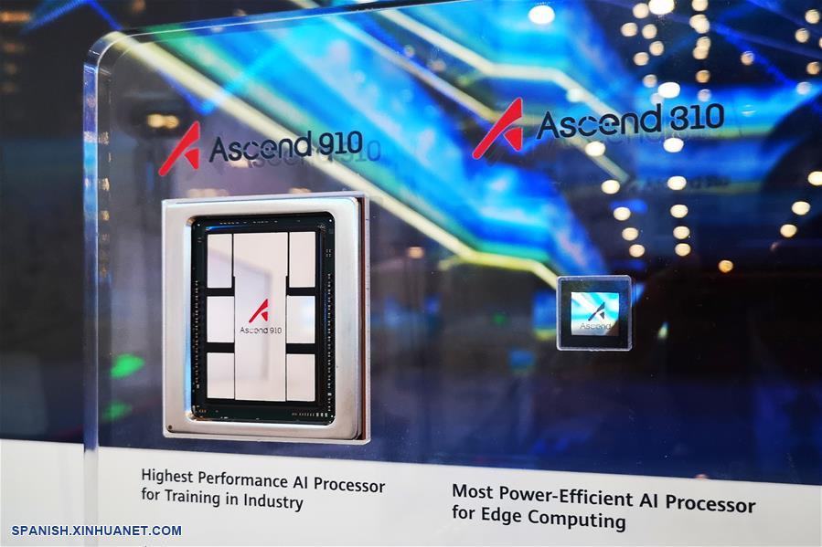 Huawei lanza Ascend 910, el procesador de inteligencia artificial más poderoso del mundo