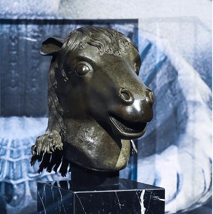 Escultura de cabeza de animal repatriada a China volverá al Antiguo Palacio de Verano