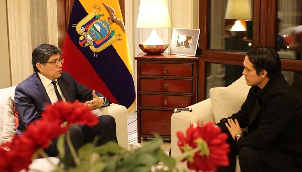 """Ecuador: """"La CIIE es un evento no solamente chino, sino mundial"""""""