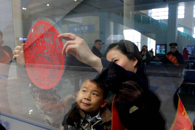 Llegarán 440 millones pasajeros de tren en temporada de Fiesta de la Primavera de China