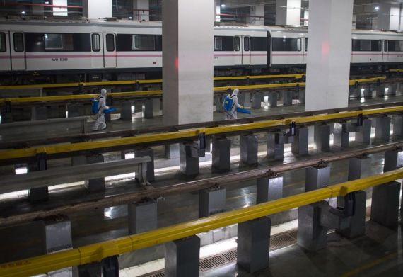 China reanuda por completo servicios de transporte público tras paralización por epidemia