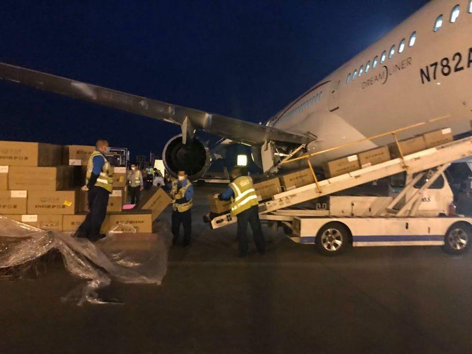 Llega a México equipo de protección para personal de salud para atender contingencia por Covid-19