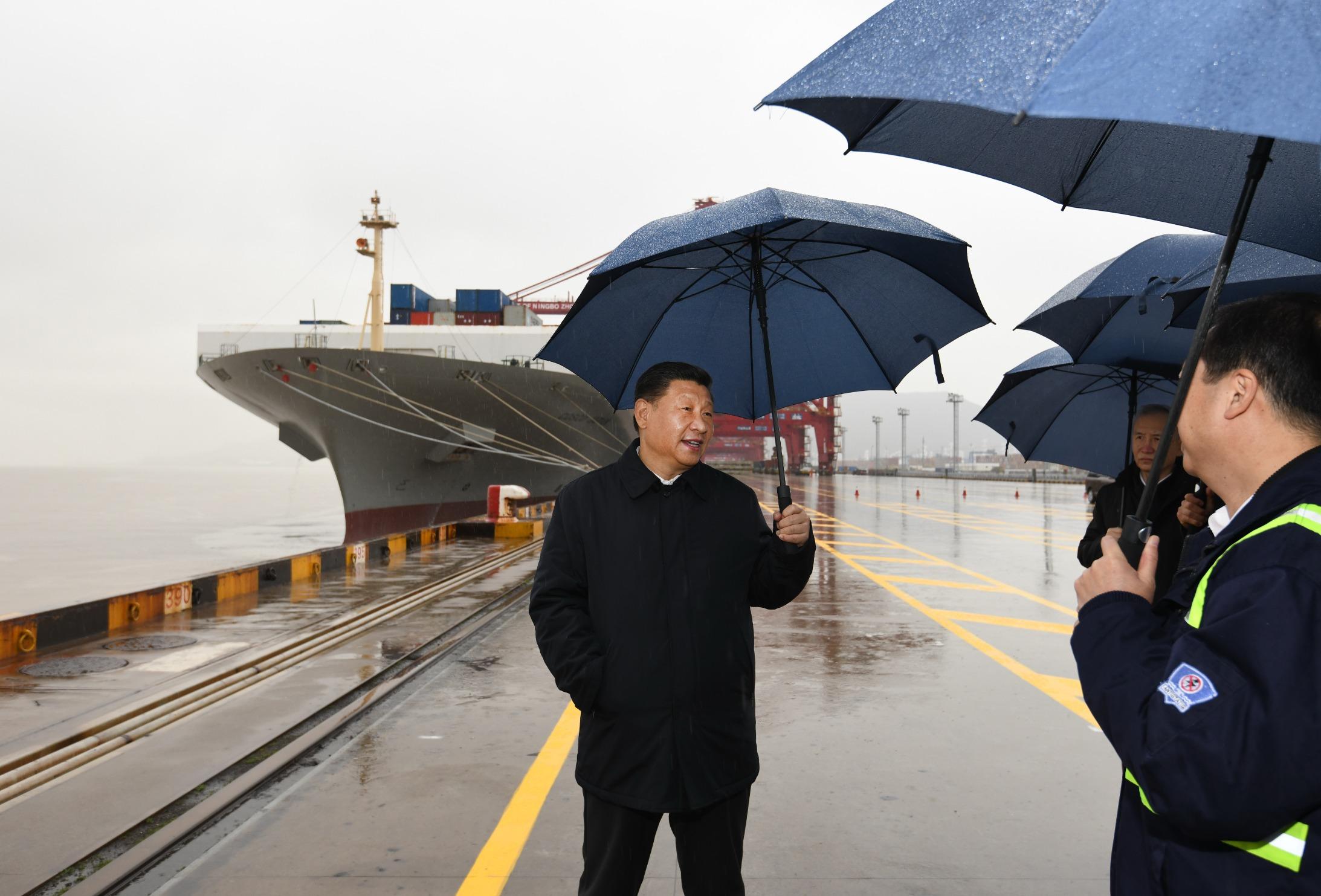 Xi pide esfuerzos para que cadena de suministro global fluya