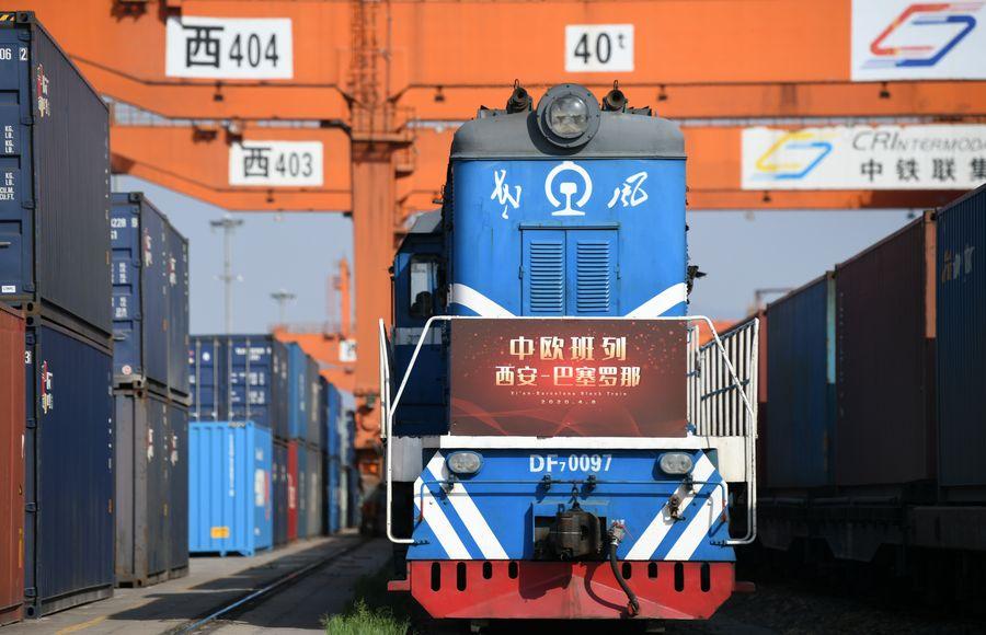 Entra en operación nueva ruta del tren de carga China-Europa