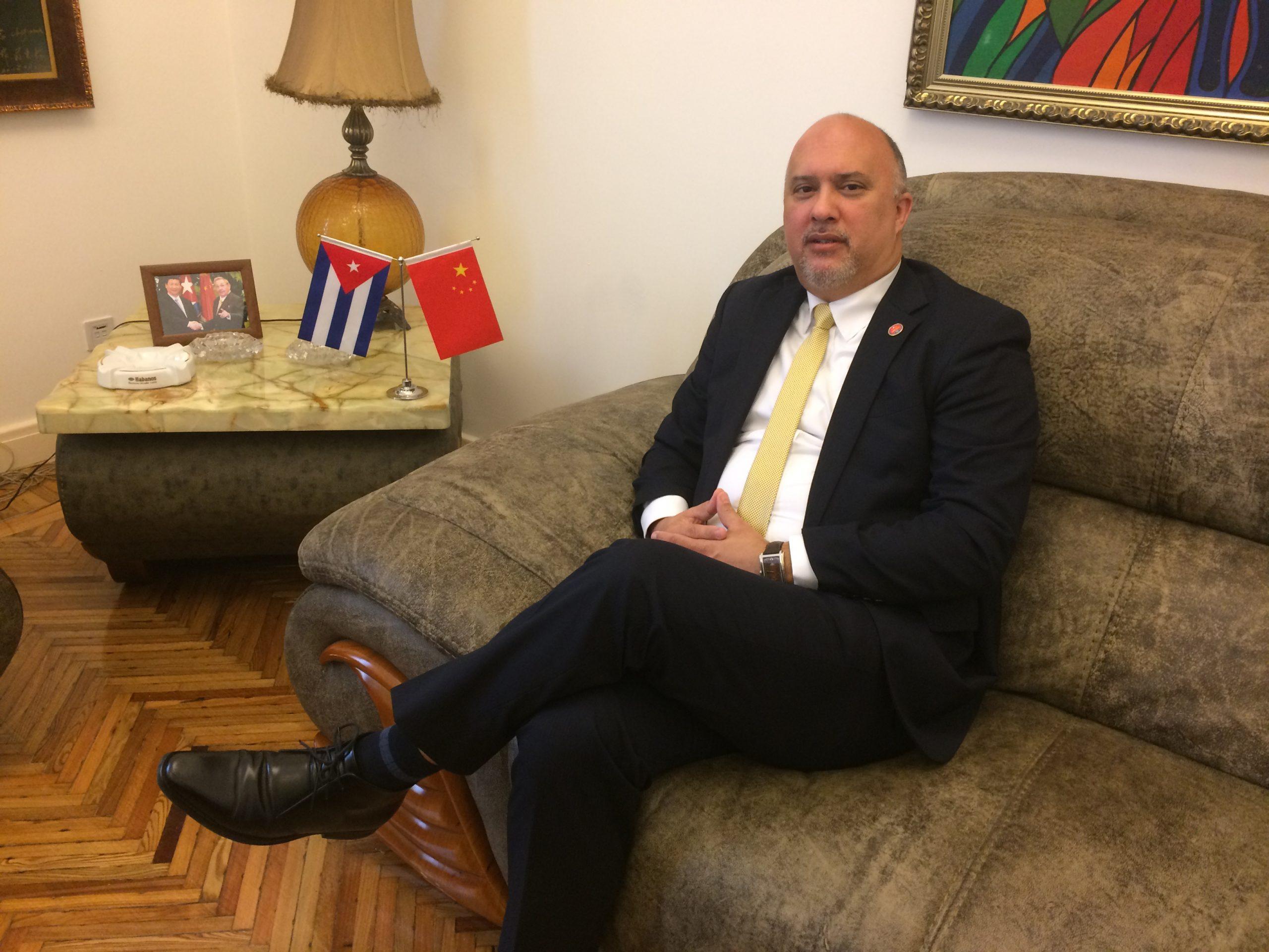 """Embajador de Cuba: """"Frente al COVID-19, no cabe la estigmatización"""""""