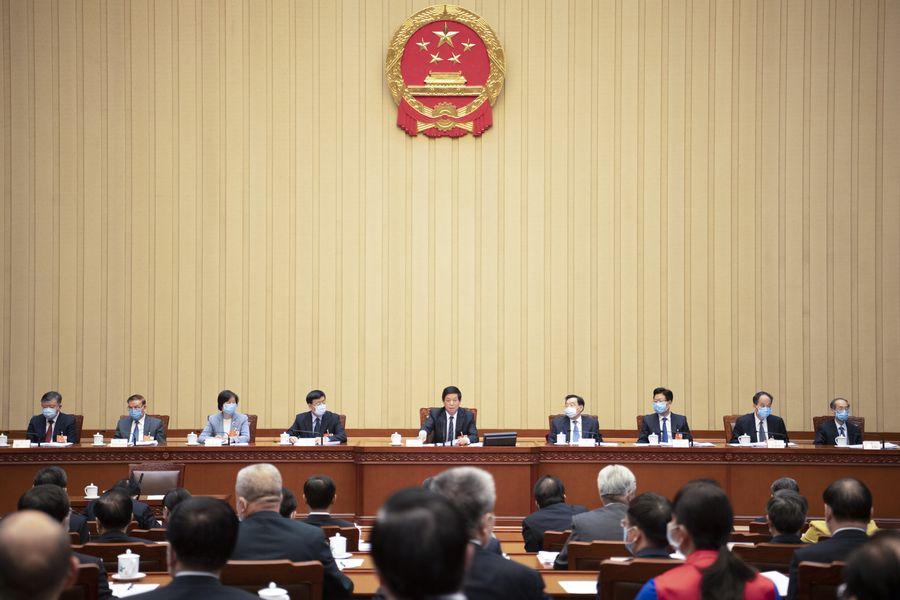 Presidium de sesión legislativa anual de China celebra segunda reunión