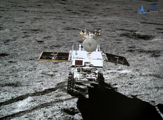 Explorador lunar chino recorre 463 metros de cara oculta de la Luna