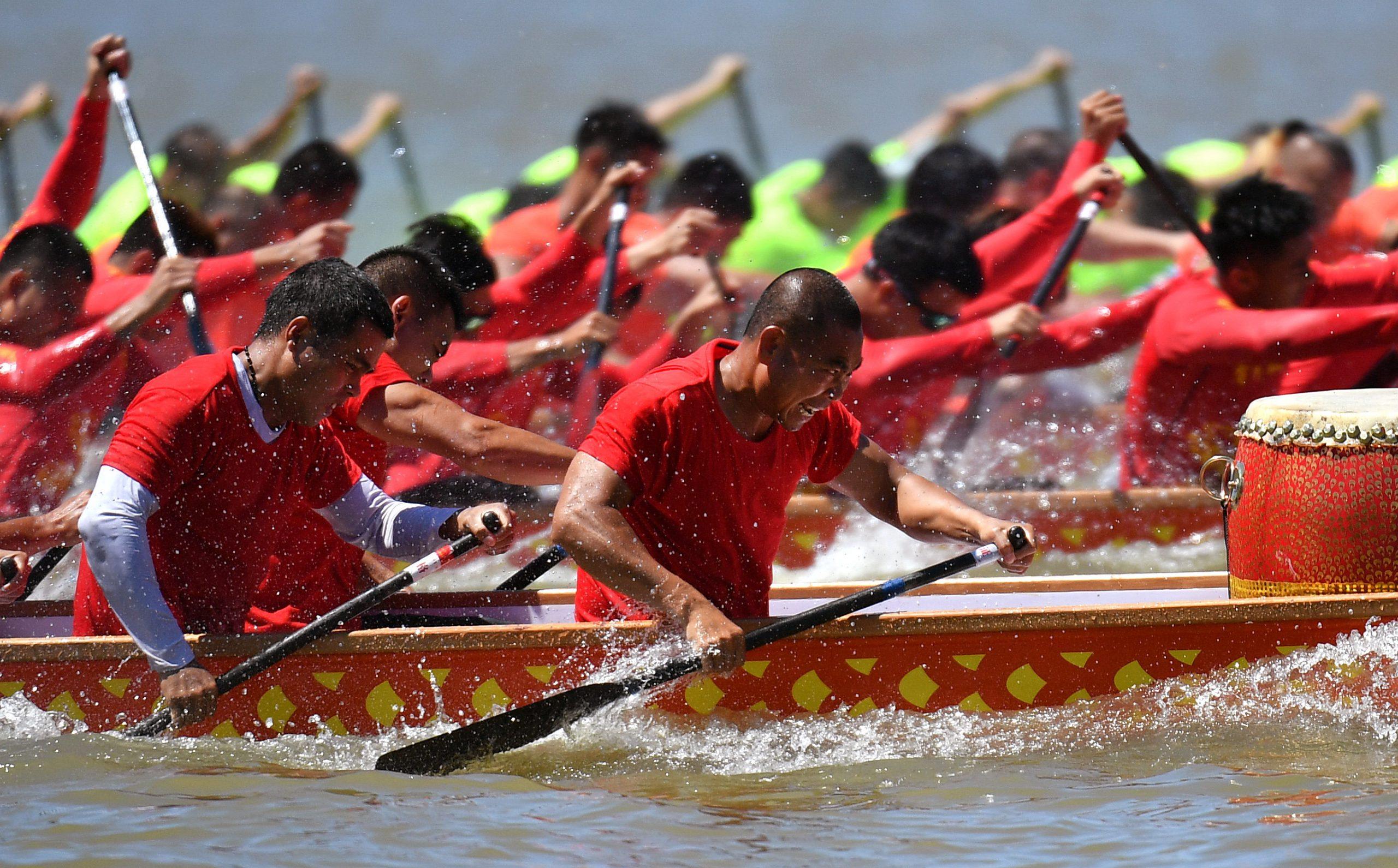 Suspenden carreras de botes de dragón en Guizhou en medio de pandemia