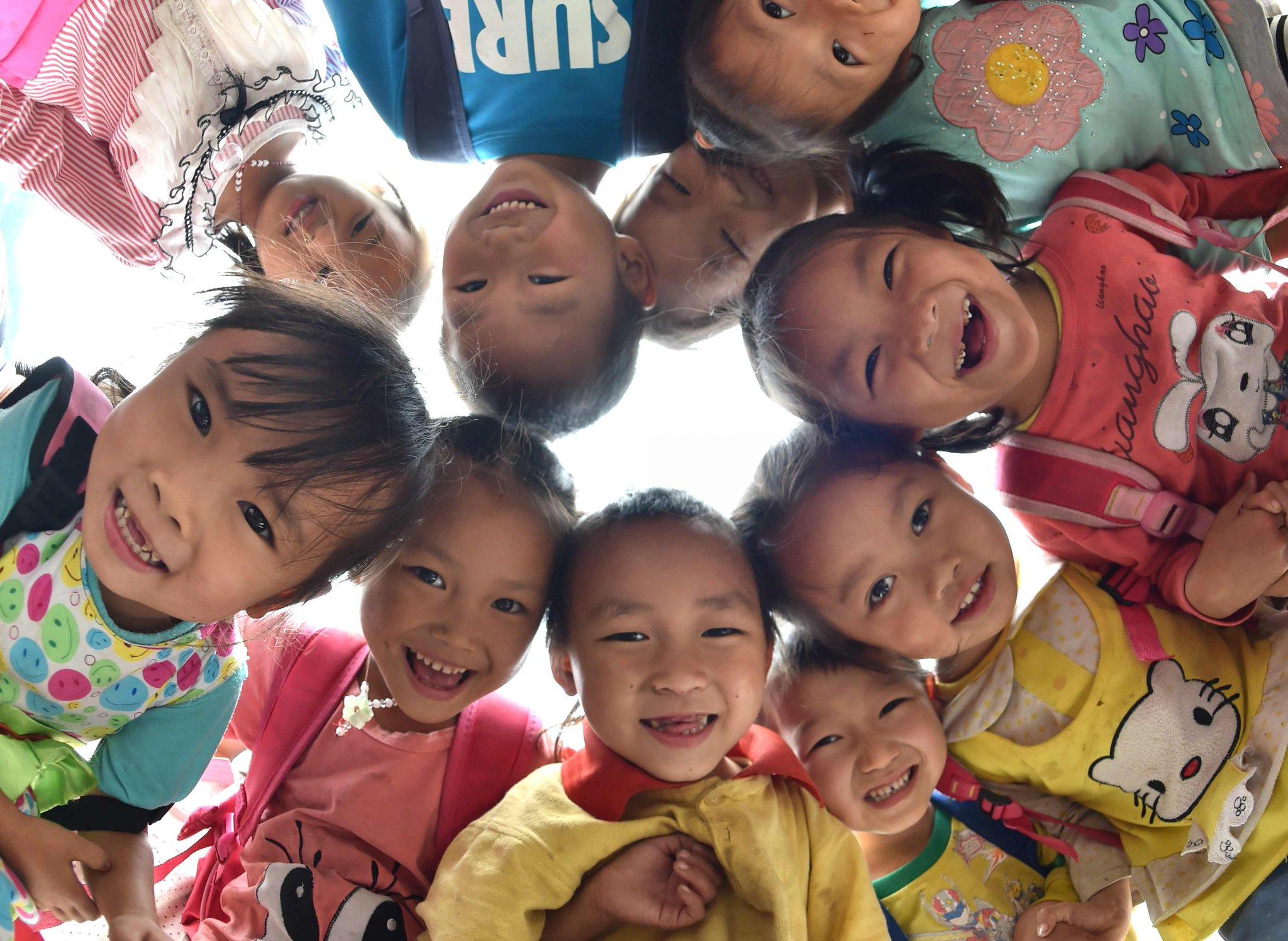 Encuesta muestra que muchos niños chinos tienden a ser egocéntricos