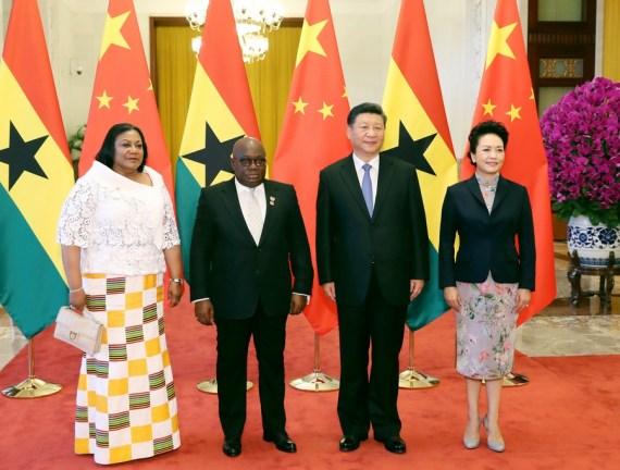 Líderes de China y Ghana intercambian felicitaciones por 60º aniversario de lazos diplomáticos
