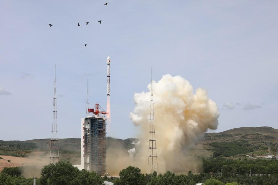 China lanza satélite de teledetección de alta resolución