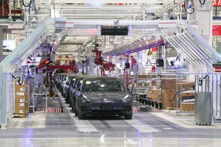 Gigafactoría de Tesla Shanghai utilizará más inteligencia artificial y software más inteligente, según Elon Musk