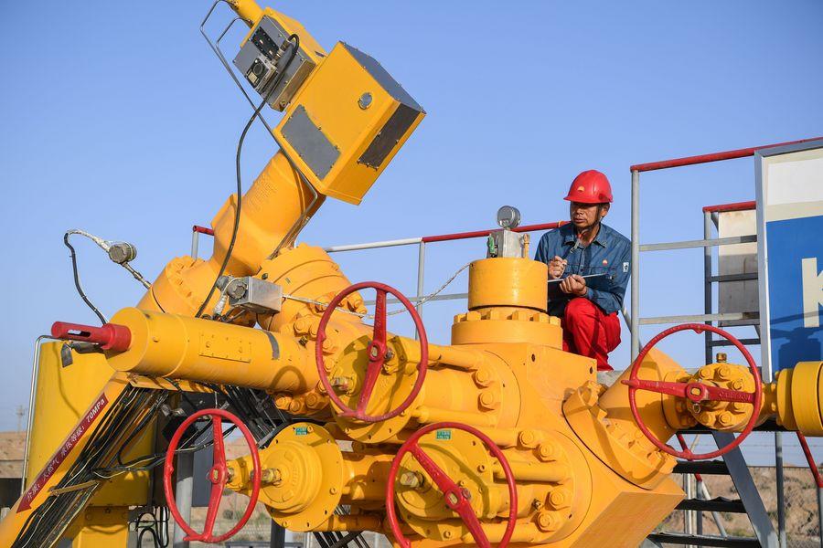 China comienza prueba de comercio internacional de GNL en línea