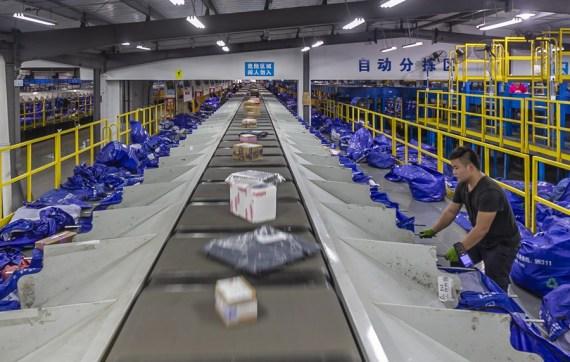 Sector de mensajería de China logra fuerte crecimiento en primer semestre pese a epidemia