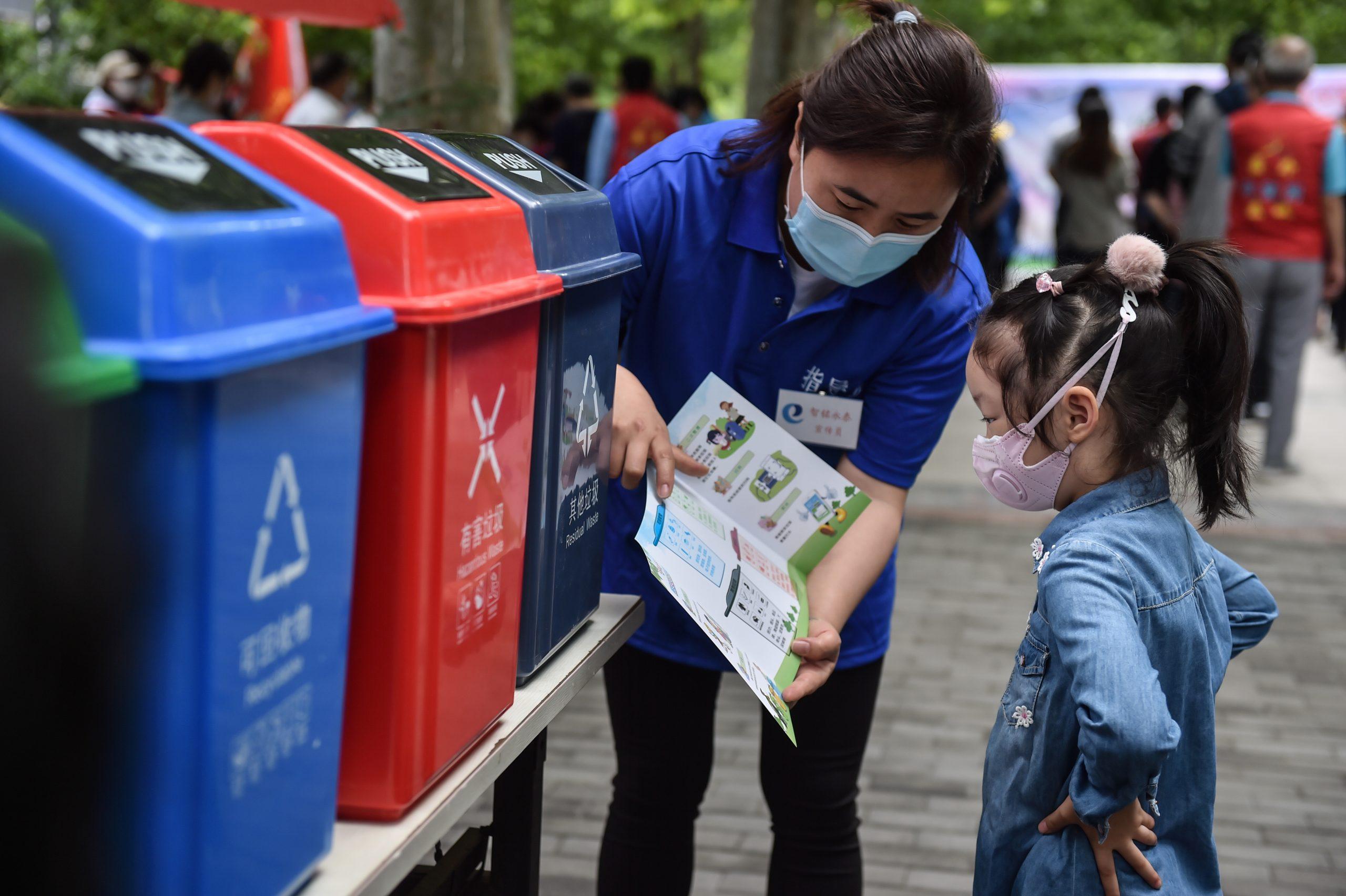 Clasificación de basura da resultados en Beijing