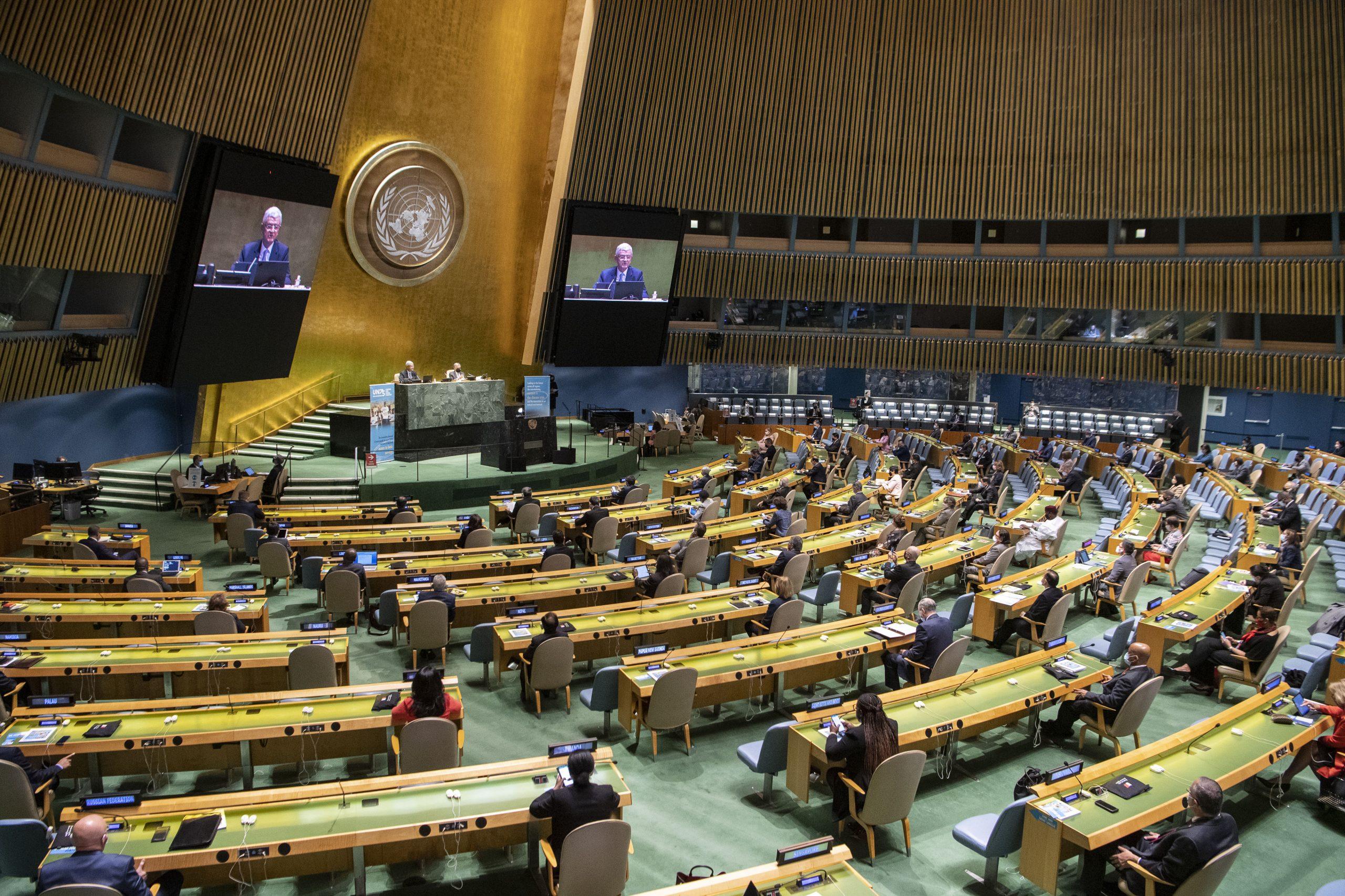China se opone firmemente a calumnias de Estados Unidos en la ONU