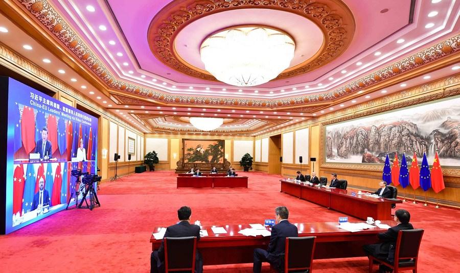 Funcionarios de la UE se expresan positivamente sobre fructífera videoconferencia con China