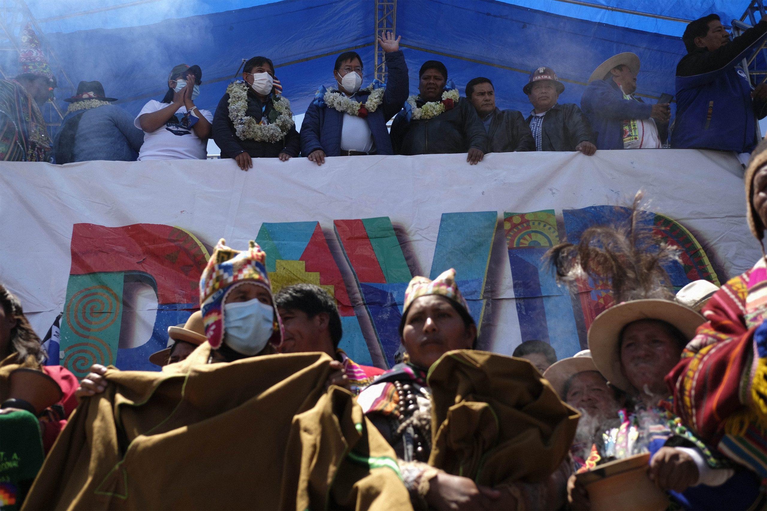 Xi envía felicitación a Luis Arce por su elección como presidente de Bolivia