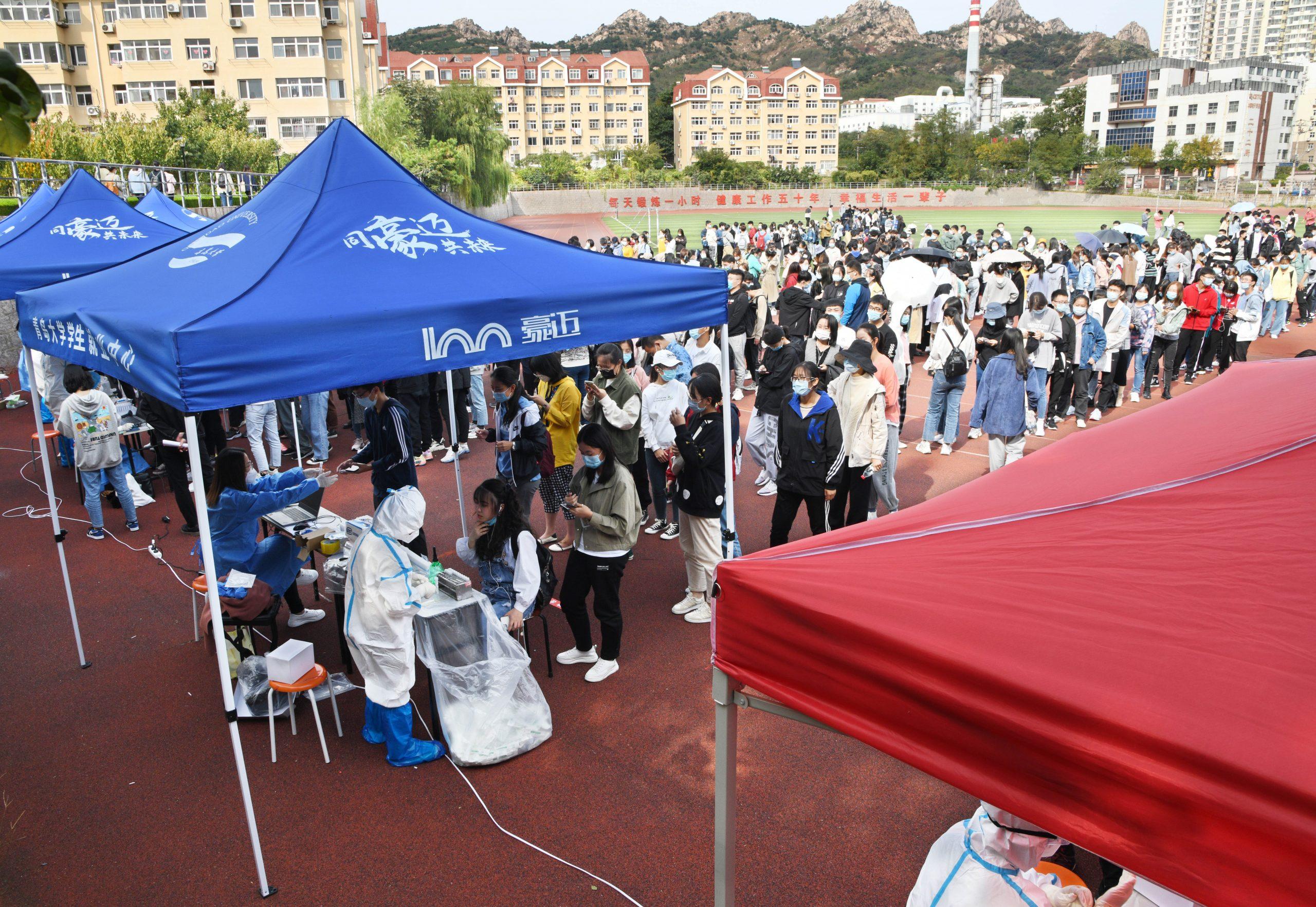 Realizan más de 7,5 millones de pruebas de COVID-19 en ciudad china de Qingdao