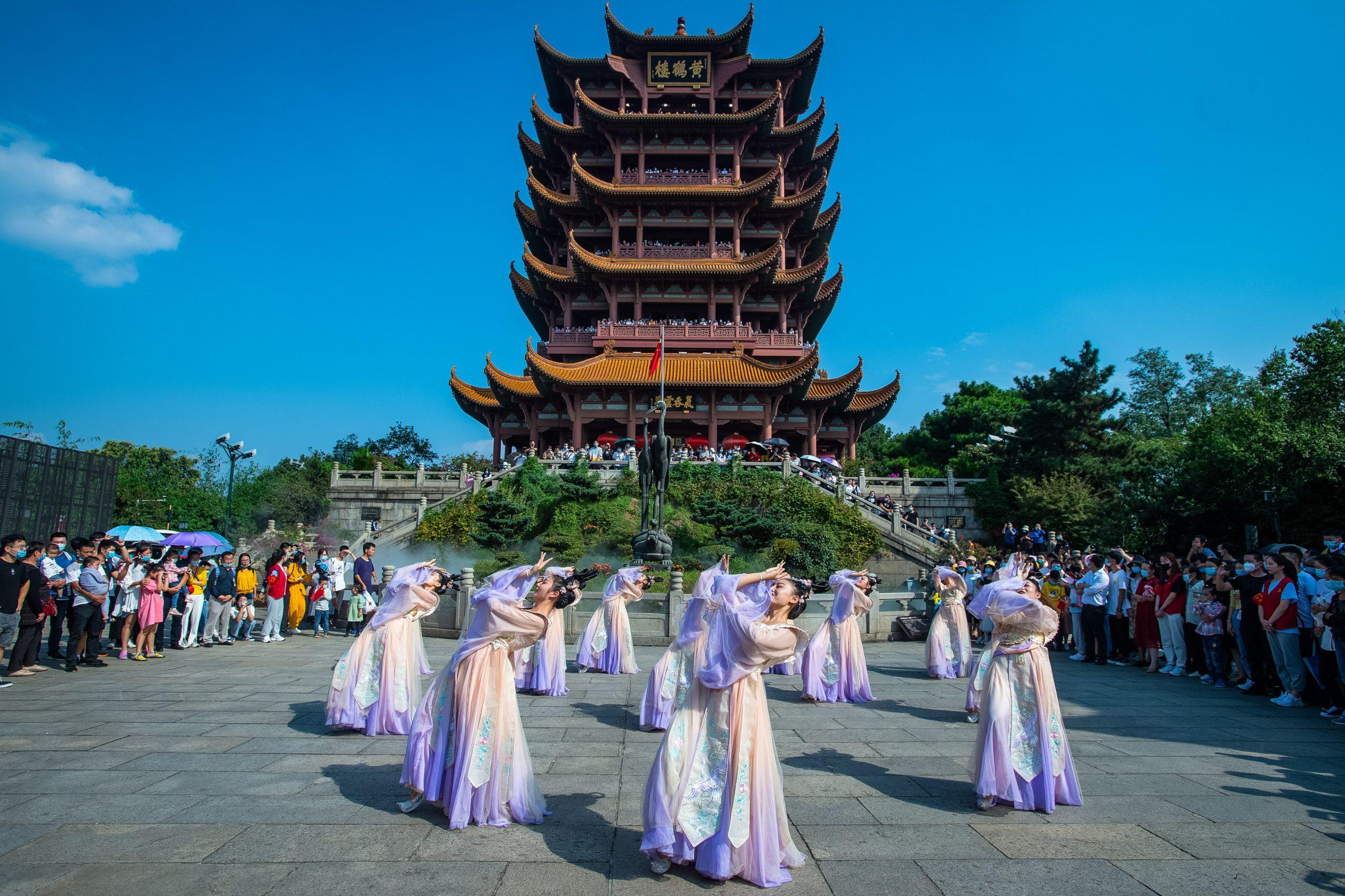 Provincia china de Hubei registra auge turístico durante vacaciones por Día Nacional