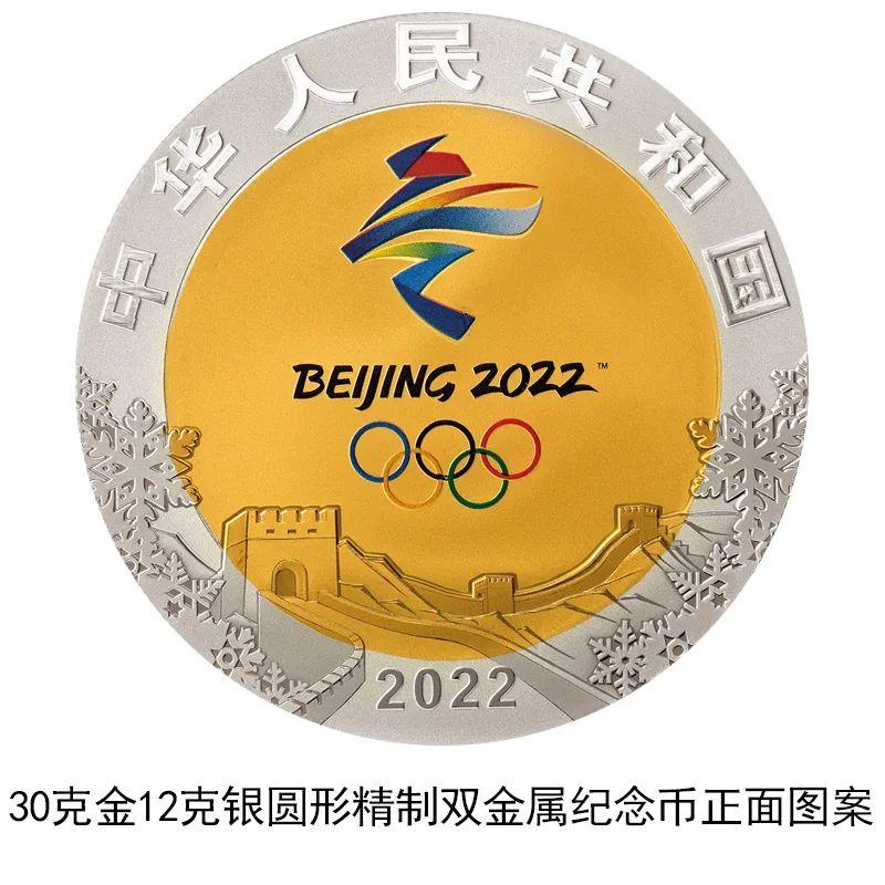 China emitirá monedas conmemorativas para Juegos Olímpicos de Invierno Beijing 2022