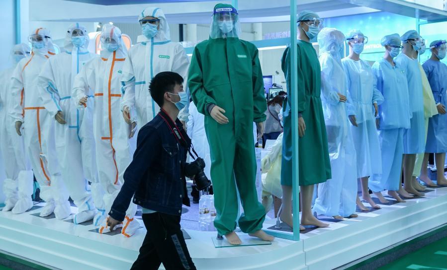 Exposición mundial de salud tras la epidemia se realiza en Wuhan