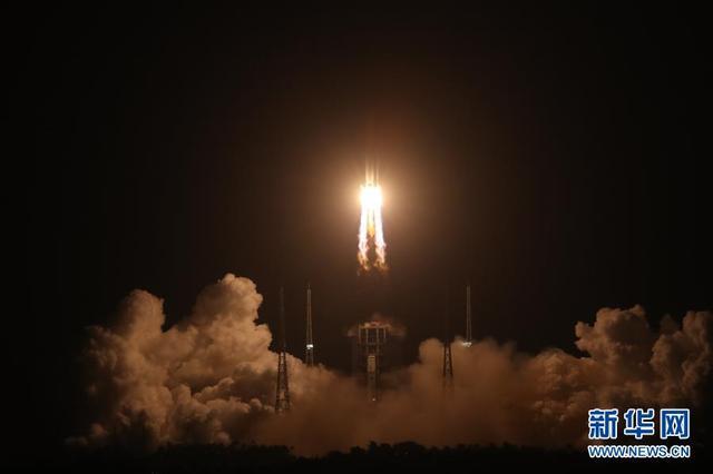China lanza Chang'e-5 para recolectar y traer muestras de la Luna