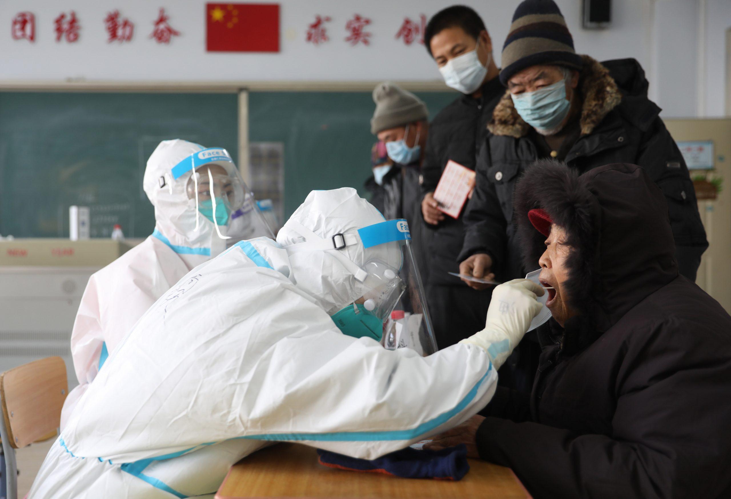 Ciudad china de Shijiazhuang completa tercera ronda de pruebas de COVID-19