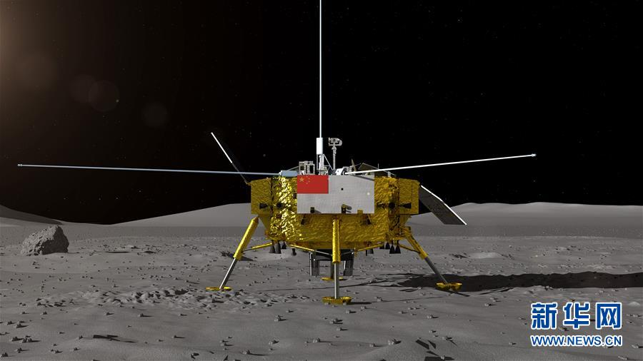 Explorador lunar de China viaja 652,62 metros en el lado lejano de la Luna