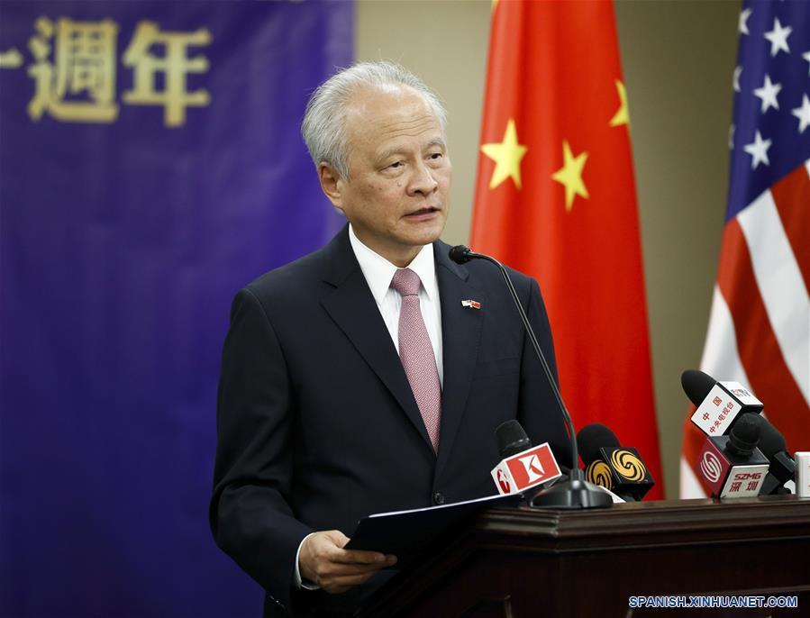 China está abierta a cooperación internacional basada en igualdad, beneficio mutuo y respeto, dice embajador chino