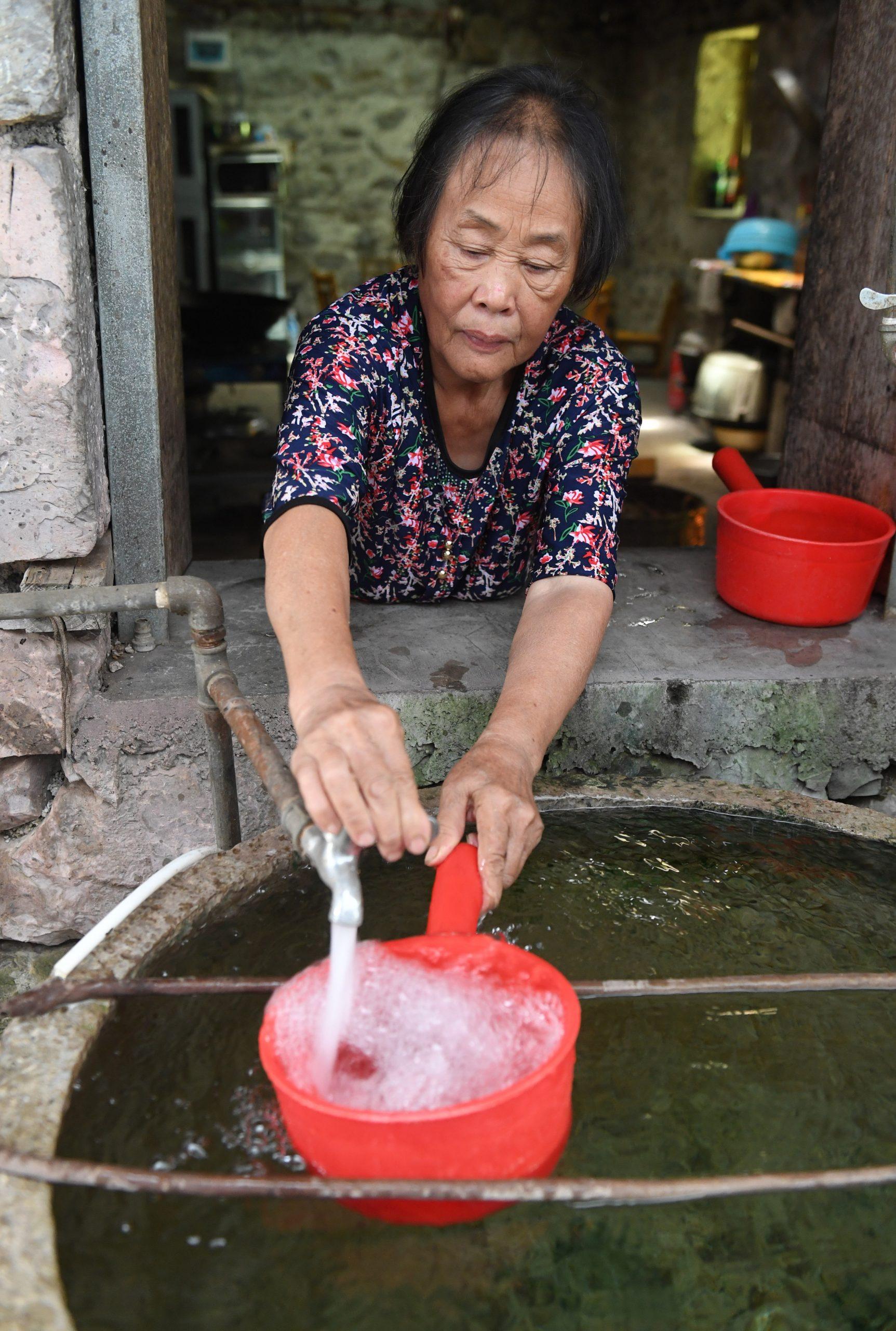 Datos muestran esfuerzos de China para conservar agua