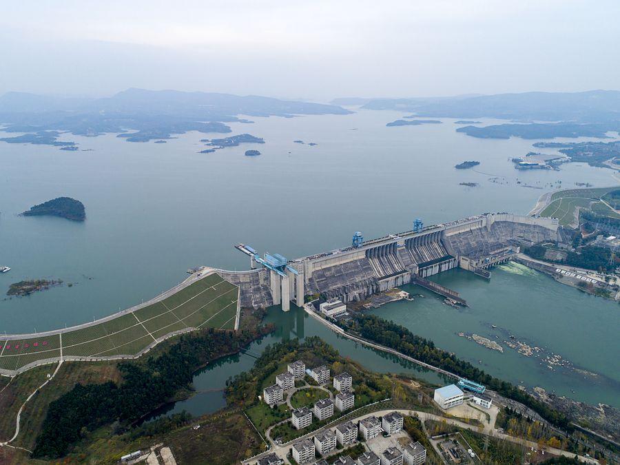 Proyecto de trasvase de agua de China transporta 22.000 metros cúbicos de agua