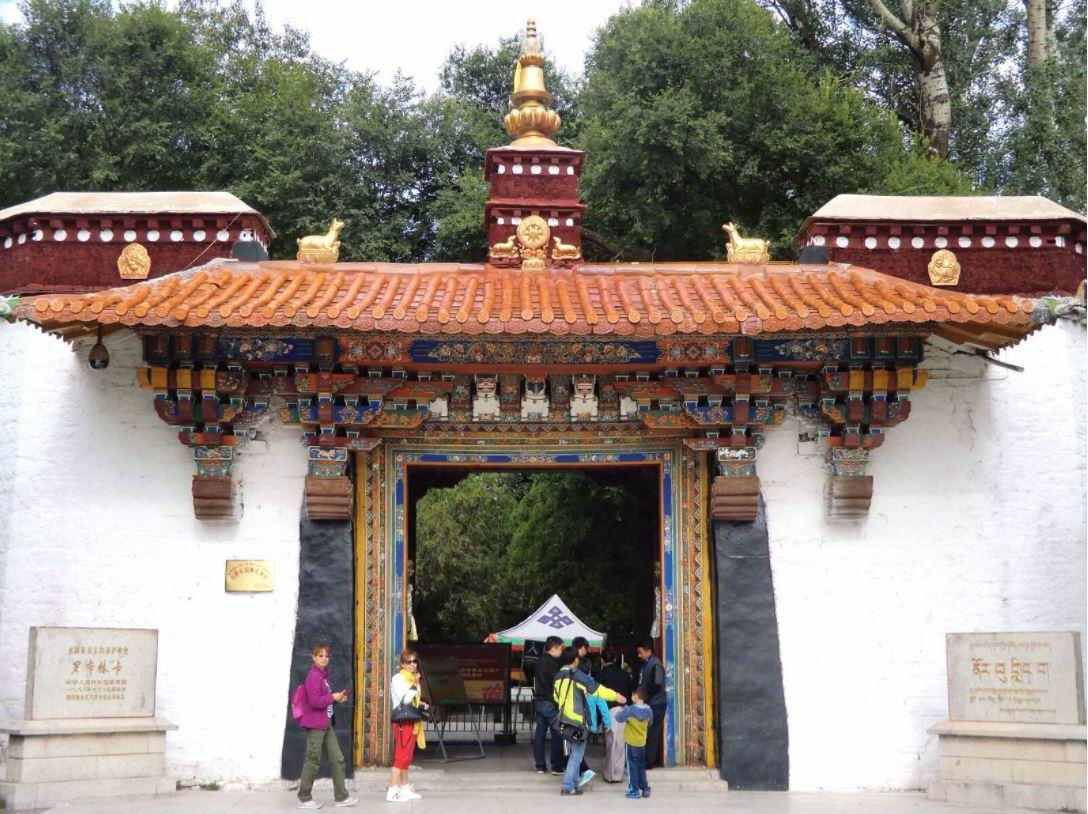 Palacio tibetano de Norbulingka se somete a nueva restauración