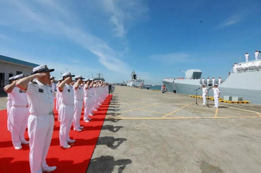 Flota naval de China regresa tras cumplir misiones de escolta