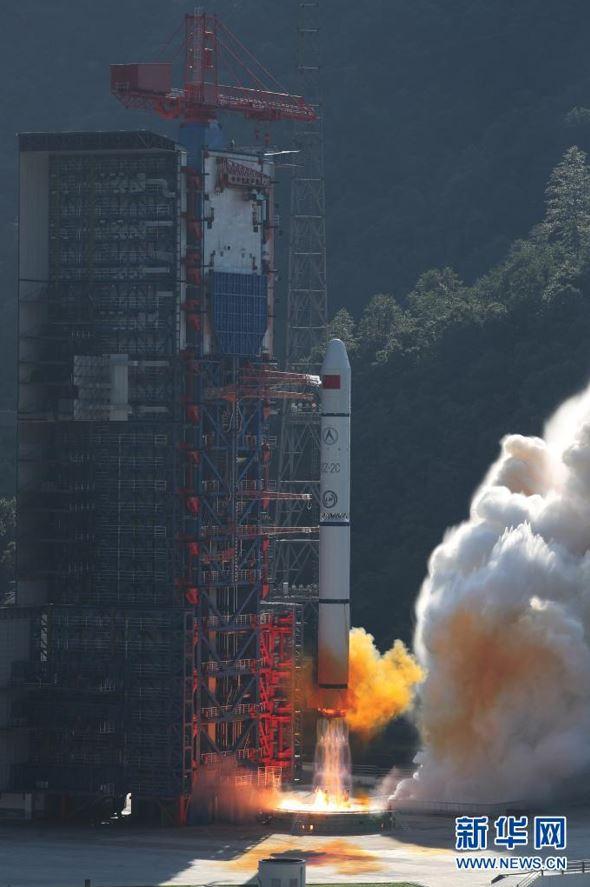 China lanza nuevos satélites de teledetección