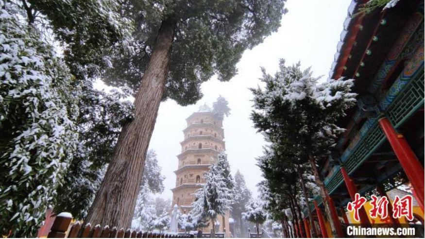 China emite alerta azul por ola de frío