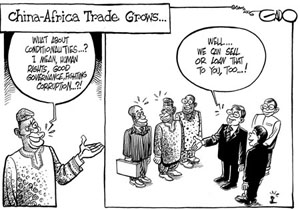 The China-Africa Trade Volume Is Expected to exceed 150