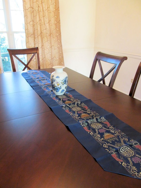Table Runners Chinese Traditional Music Sheet Pattern